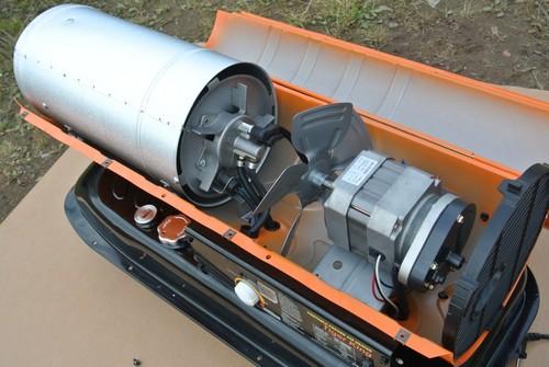 Пушка тепловая дизельная ремонт своими руками